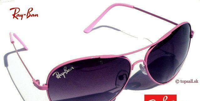 Ray-ban - pilot slnečné okuliare Pink - Slnečné okuliare Bratislava - Na  Predaj .EU 99744f1e222